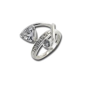 Пръстени с камък от сребро - 1615202