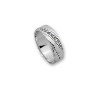 Пръстени с камък от сребро - 1615273