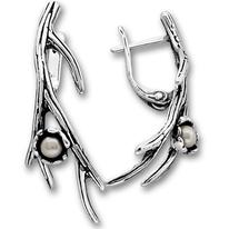Обеци с перли 115952