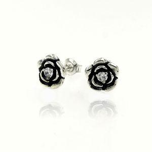 Oбици с камъни от сребро - 114308