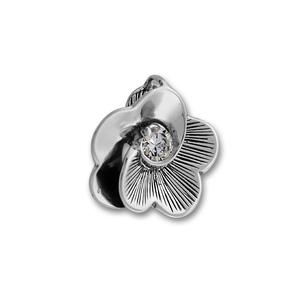 Висулки от сребро с камък - 182911