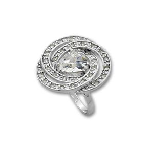 Пръстени с камък от сребро - 1615985