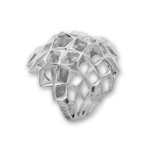Сребърен пръстен без камък 1515271