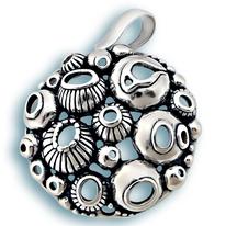 Висулки от сребро без камък - 187799