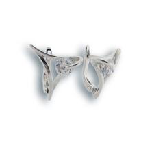 Oбици с камъни от сребро - 121322