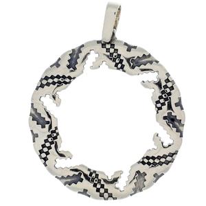 Висулки от сребро без камък - 172652