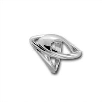 Сребърни пръстени без камък - 1545874