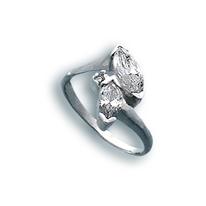 Пръстени с камък от сребро - 1624932