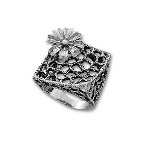 Сребърни пръстени без камък - 1515969