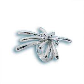 Сребърен пръстен без камък 1505245
