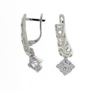 Oбици с камъни от сребро - 121647