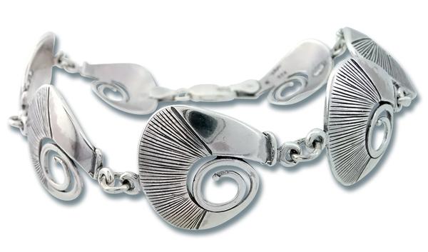 Сребърна гривна 200832
