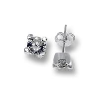 Oбици с камъни от сребро - 120233