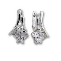 Oбици с камъни от сребро - 121473