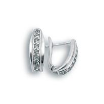 Oбици с камъни от сребро - 138024