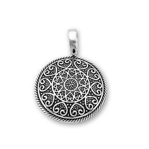 Висулки от сребро без камък - 180068
