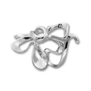 Сребърен пръстен без камък 1545902