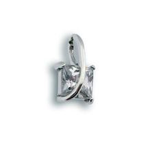 Висулка от сребро с камък 184043