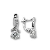 Oбици с камъни от сребро - 139471