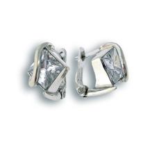 Oбици с камъни от сребро - 121043