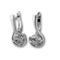 Oбици с камъни от сребро - 121490