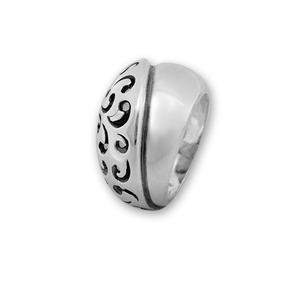 Сребърни пръстени без камък - 1536054