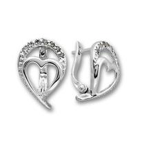 Oбици с камъни от сребро - 138951