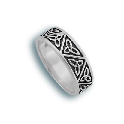 Сребърен пръстен без камък 1665161