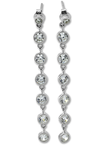 Oбици с камъни от сребро - 139559