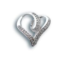 Висулки от сребро с камък - 173163