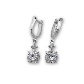 Oбици с камъни от сребро - 121615