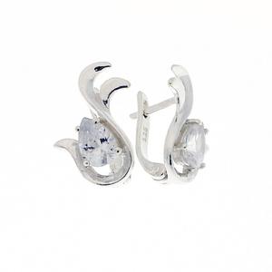 Oбици с камъни от сребро - 121660