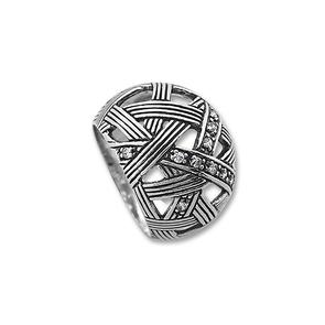 Пръстени с камък от сребро - 1615988