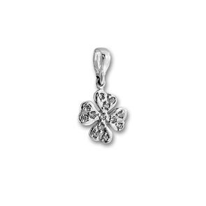 Висулки от сребро с камък - 186515