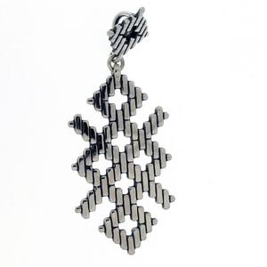 Висулки от сребро без камък - 181104