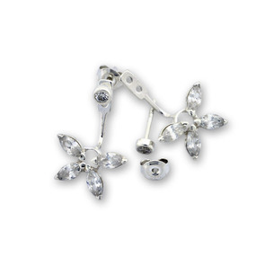 Oбици с камъни от сребро - 139066