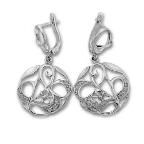 Oбици с камъни от сребро - 137967
