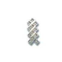 Висулки от сребро с камък - 186828