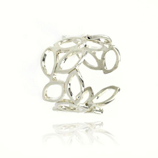 Сребърен пръстен без камък 1546118