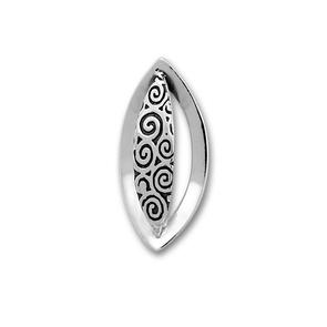 Висулка от сребро без камък 181955