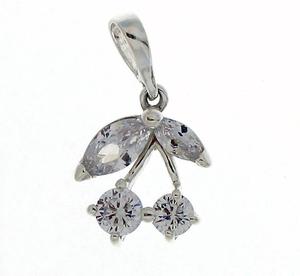 Висулки от сребро с камък - 186658