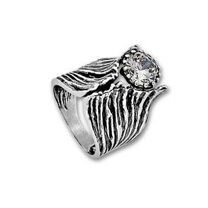 Пръстени с камък от сребро - 1585970