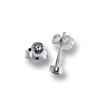 Oбици с камъни от сребро - 120226