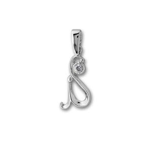 Висулки от сребро с камък - 184488