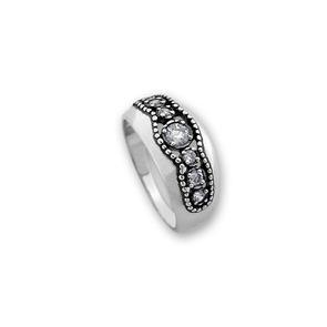 Пръстени с камък от сребро - 1626073