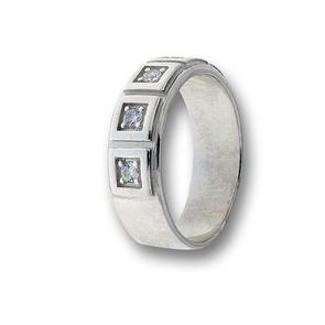 Пръстен с камък от сребро 1616090