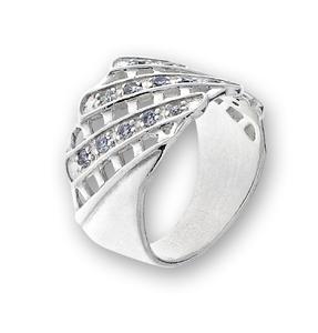 Пръстен с камък от сребро 1616105