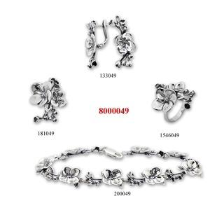 Сребърни бижута - комплекти - 8000049