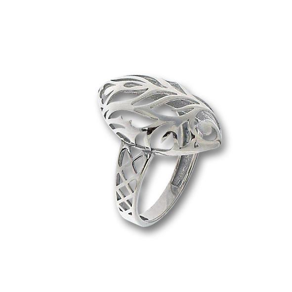 Сребърен пръстен без камък 1486081