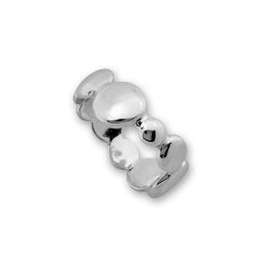 Сребърни пръстени без камък - 1536034